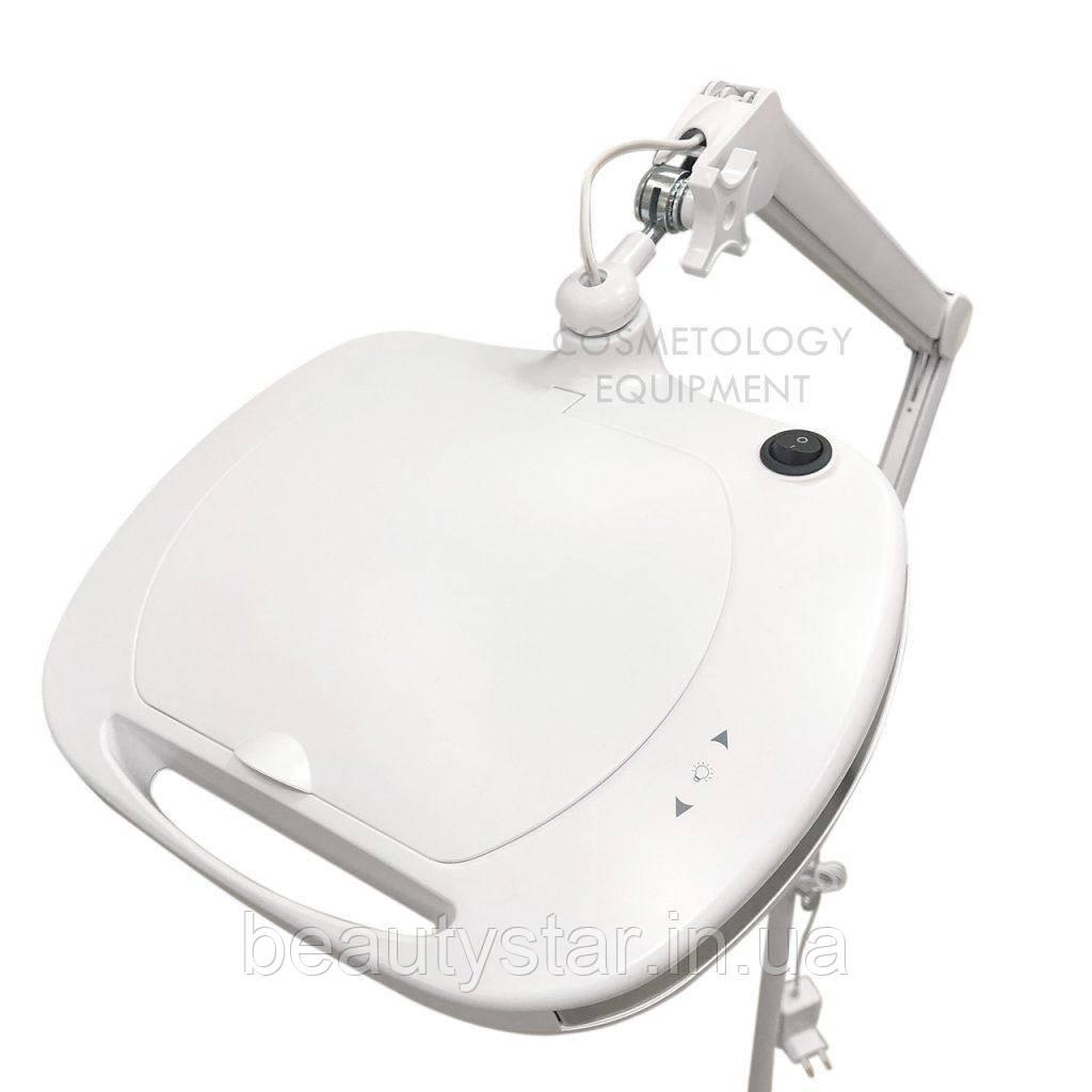 Настольная лампа лупа с регулировкой яркости с 6030 Led 3D для наращивания ресниц, маникюра, для косметолога
