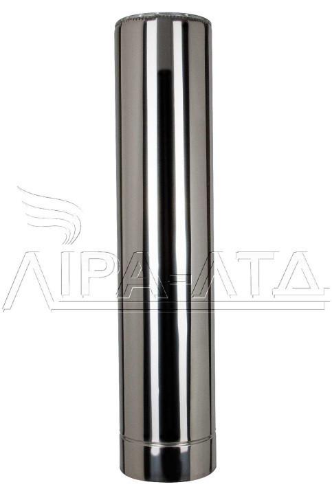 Труба термо нерж/нерж 1м Ф120/220мм 0,8мм 321  для саун