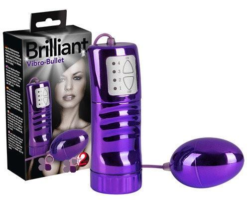 Віброяйце на пульті фіолет. (Brilliant)