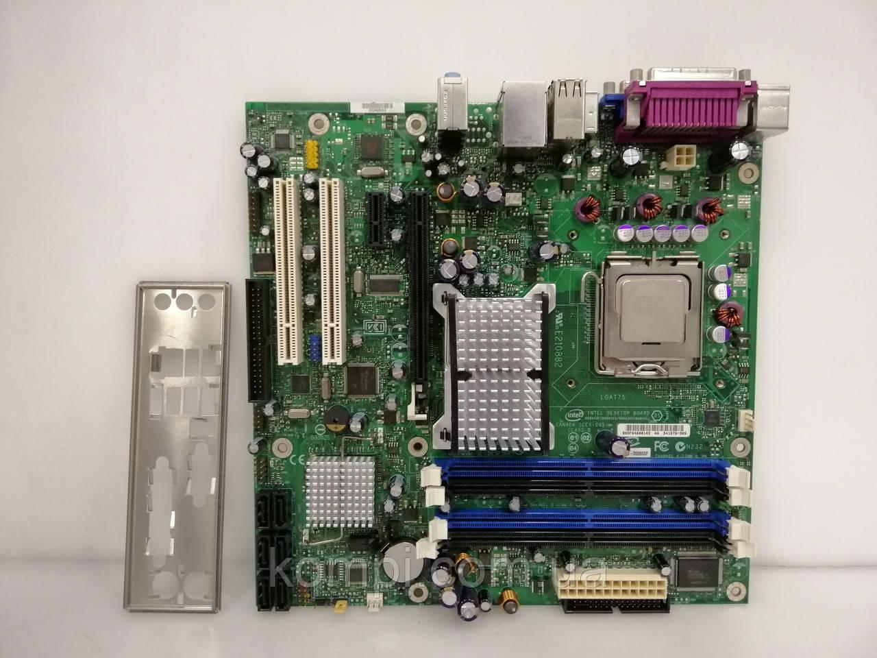 Материнская плата INTEL DQ965GF/D41676 + E7300   S775/C2D DDR2