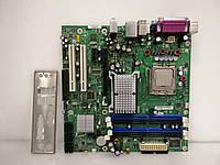 Материнская плата INTEL DQ965GF/D41676 + E7300   S775/C2D DDR2, фото 1