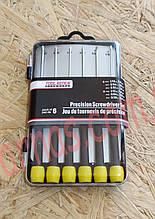 Набор отверток 6 штук Tool Bench Hardware Precision screwdriver set (3-25)