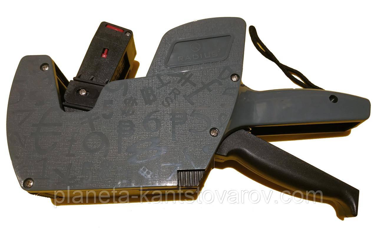 Пистолет для ценников G-2000 однострочный Radius (10знак)+ ценник
