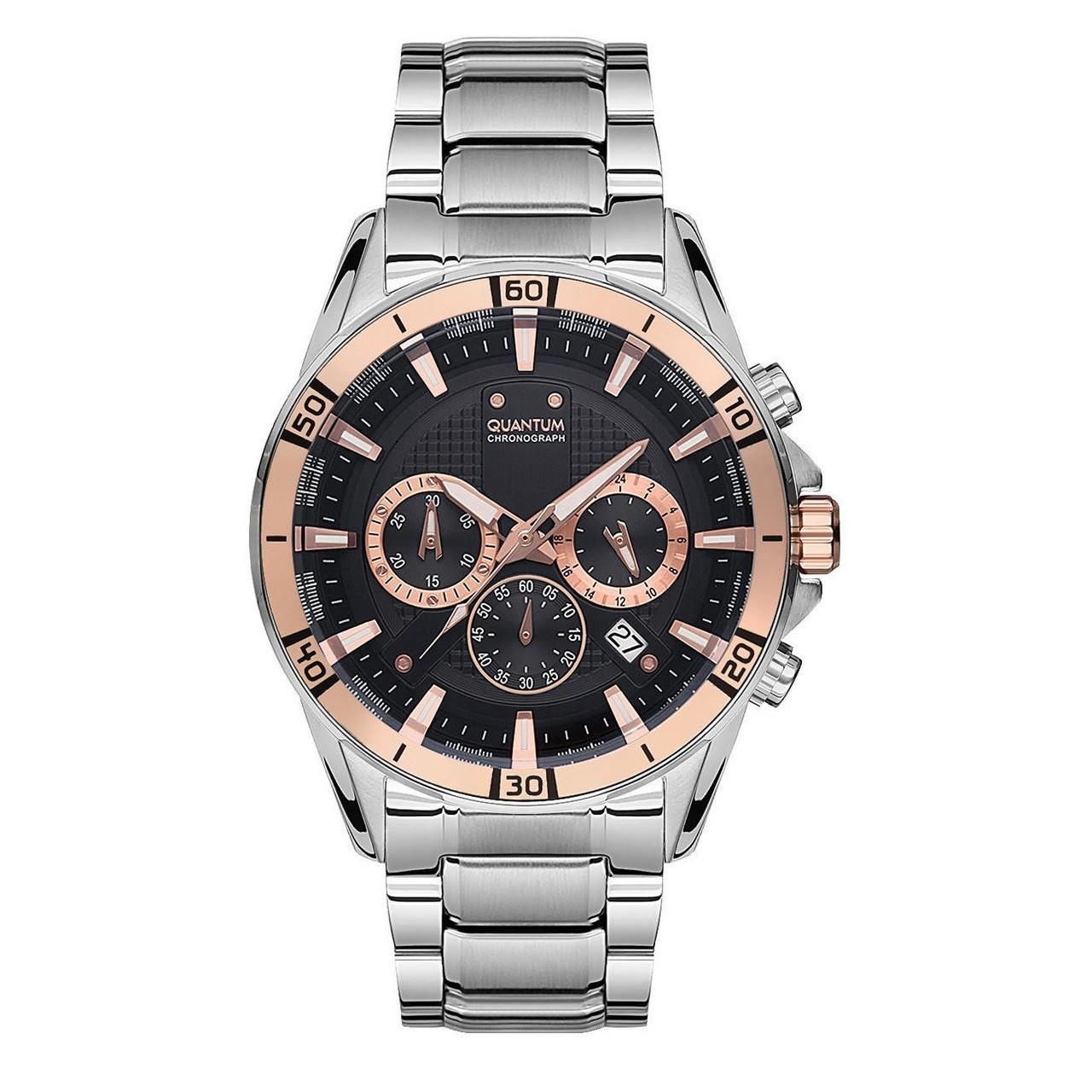 Часы мужские Quantum ADG680.550 серебряные