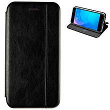 Чехол книжка кожаный Gelius для Xiaomi Redmi 7 Black