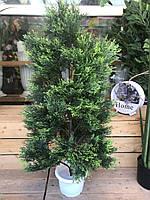 Туя искусственная зеленая 100 см, фото 1