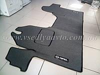 Ворсовые коврики в салон Opel Movano с 2003-2008 гг. (Серый), фото 1