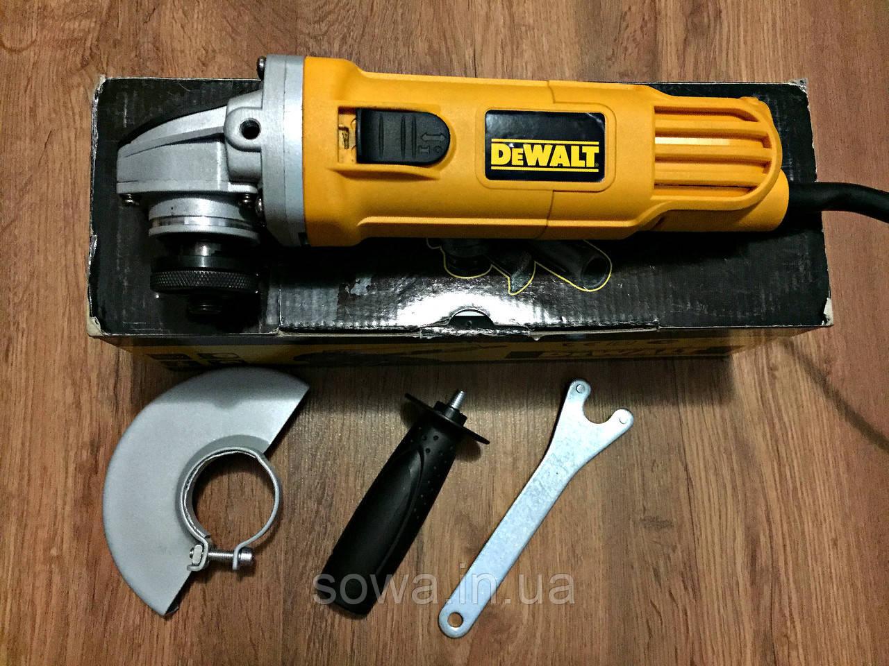 ✔️ Болгарка DeWALT - DWE4157   125 мм, 900 Вт