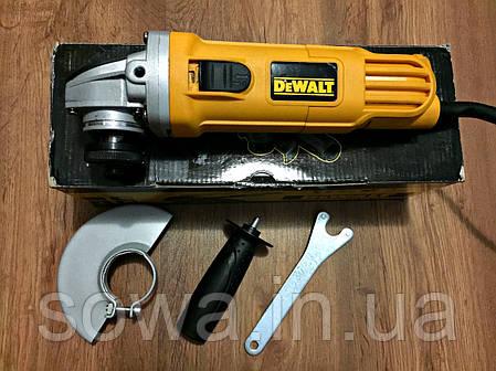 ✔️ Болгарка DeWALT - DWE4157   125 мм, 900 Вт , фото 2