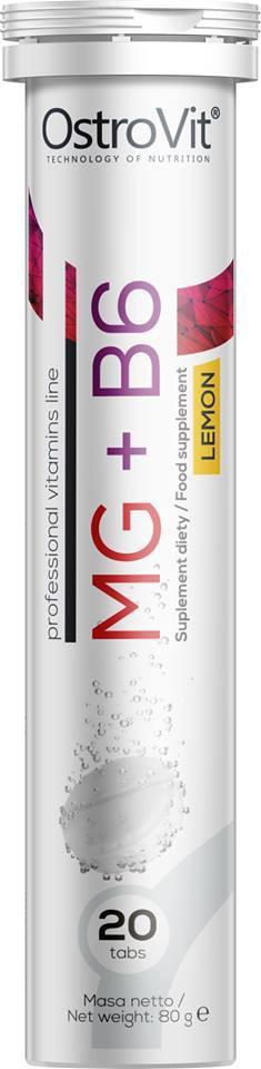 OSTROVIT Mg + B6 Магний+B6 20tabs (лимон)