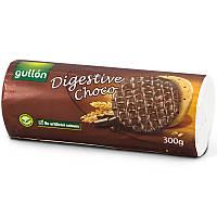 Вегетаріанське без барвників Печиво злакове з шоколадом Digestive Choco Gullon 300г Іспанія