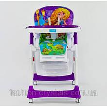 Стульчик для кормления JOY  фиолетовый