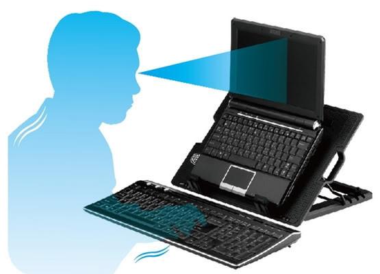 Подставка для охлаждения ноутбука ErgoStand. 9-17 дюймов.