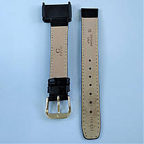 16 мм Кожаный Ремешок для часов CONDOR 169.16.01 Черный Ремешок на часы из Натуральной кожи, фото 2