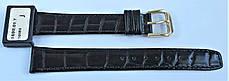 16 мм Кожаный Ремешок для часов CONDOR 169.16.01 Черный Ремешок на часы из Натуральной кожи, фото 3