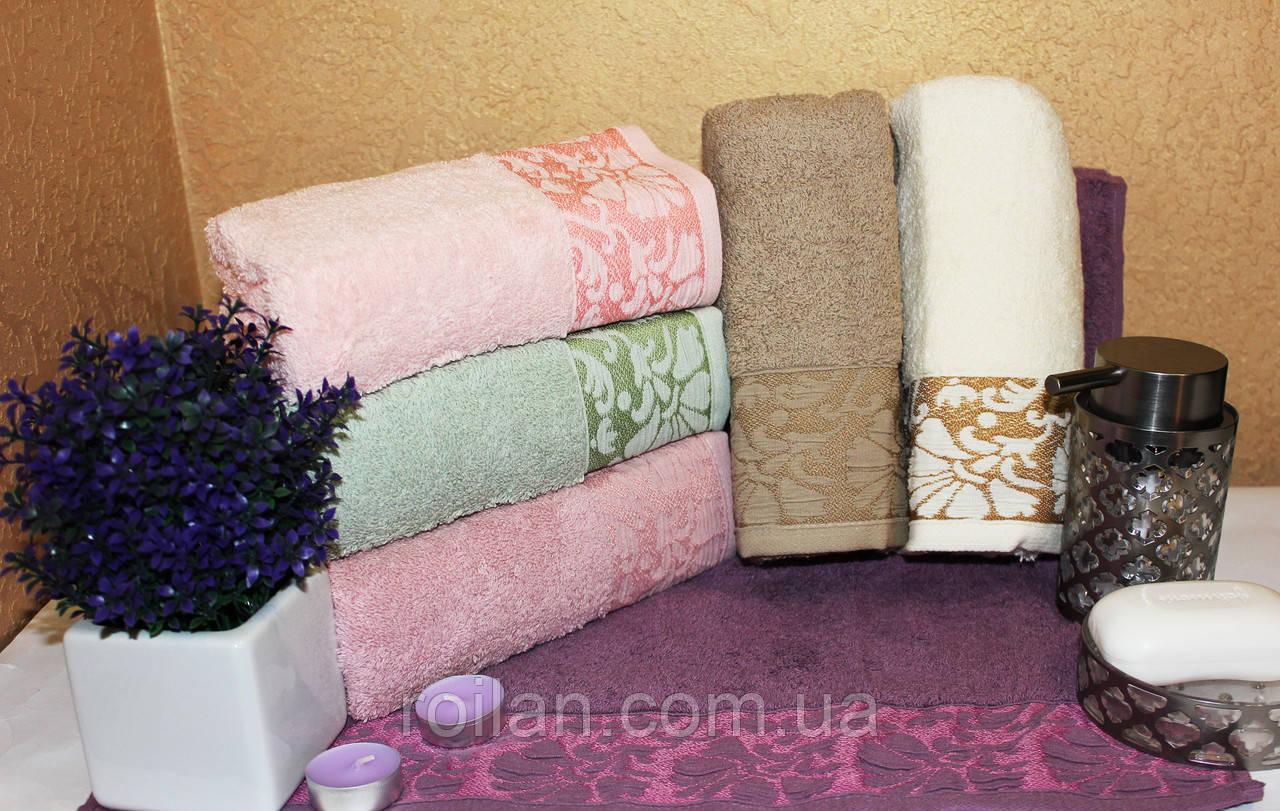 Банные турецкие полотенца Febo Пион