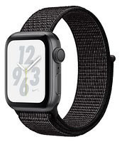 Apple Watch Nike+ Series 4 GPS 40mm Space Gray Aluminium with Black Nike Sport Loop (MU7G2)