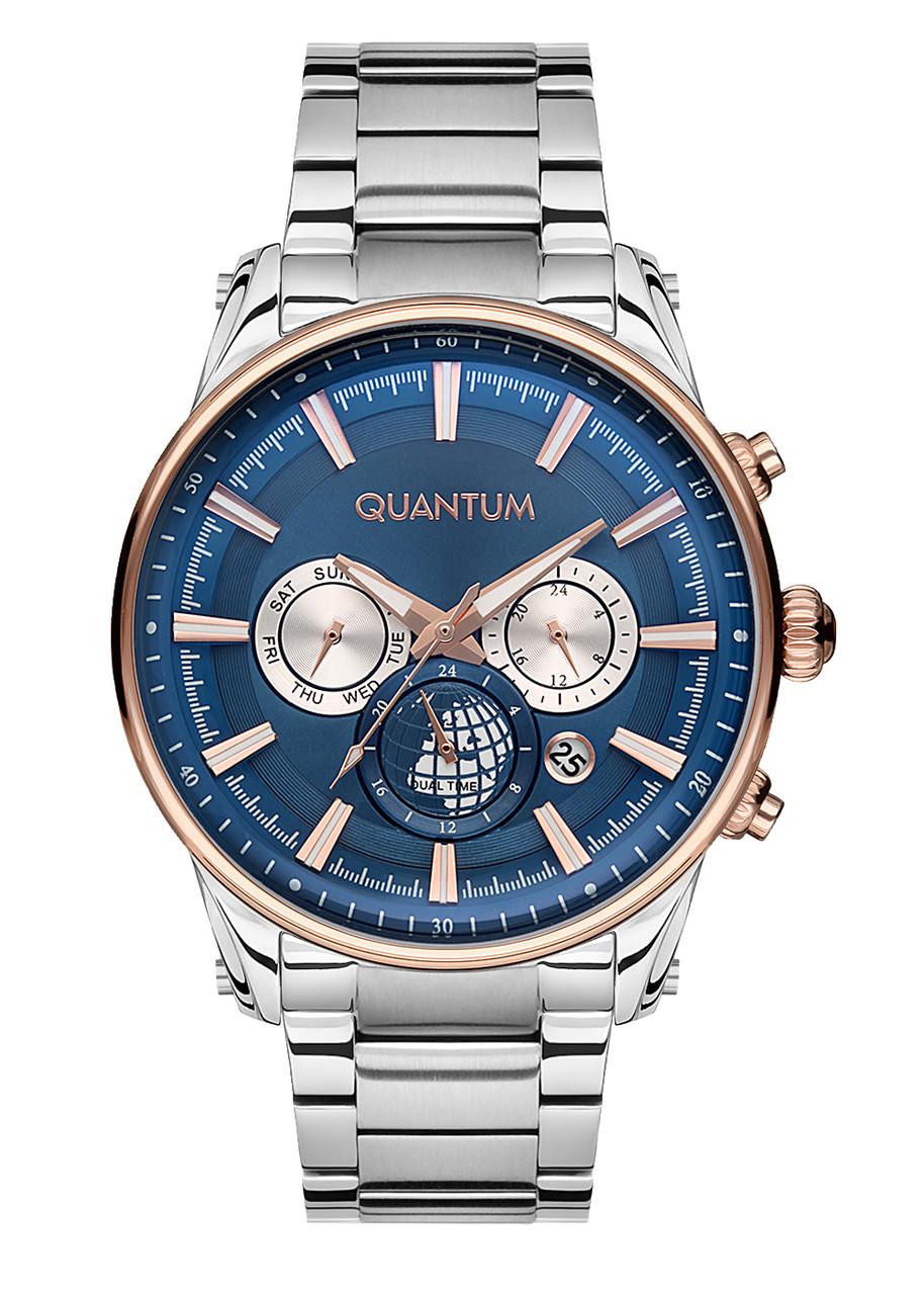 Часы мужские Quantum ADG669.590 серебряные