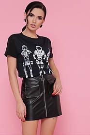 GLEM Chanel Космонавты футболка Boy-2