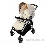 Прогулочная коляска для ребенка Babylux Carita beige 208S-бежевая