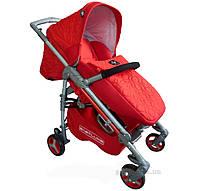 Прогулочная коляска для ребенка BabyLuxe ruby 208S-красная