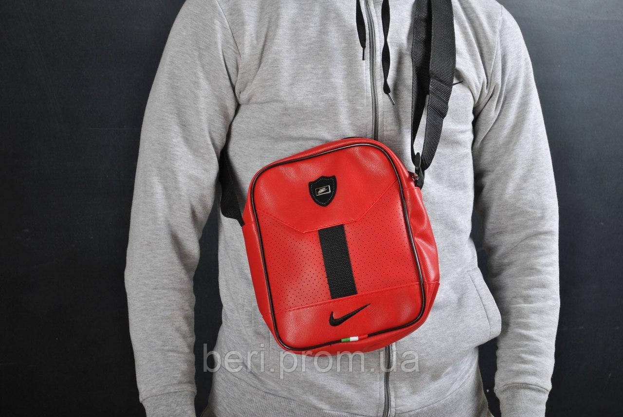 Cумка - мессенджер  Nike Red