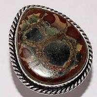 """Красивый перстень с септарией  """"Восьмерка"""", размер 19,2  от студии LadyStyle.Biz, фото 1"""