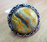 Восточное кольцо с  яшмой шмель , размер 17.7 от Студии  www.LadyStyle.Biz, фото 1