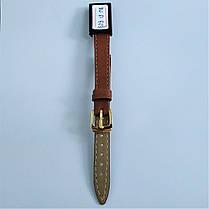 12 мм  Кожаный Ремешок для часов CONDOR 525.12.08 Коричневый Ремешок на часы из Натуральной кожи, фото 3