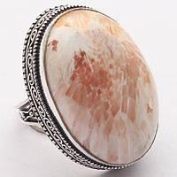 """Кольцо с  розовым сколецитом, """"Овал"""" , размер 18.2 от студии LadyStyle.Biz, фото 1"""