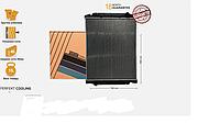 Радиатор без рамы Iveco Stralis AD, AT [02р.--], Trakker [02р.--] 504011119
