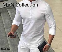 Супер модная мужская рубашка 0001 АА
