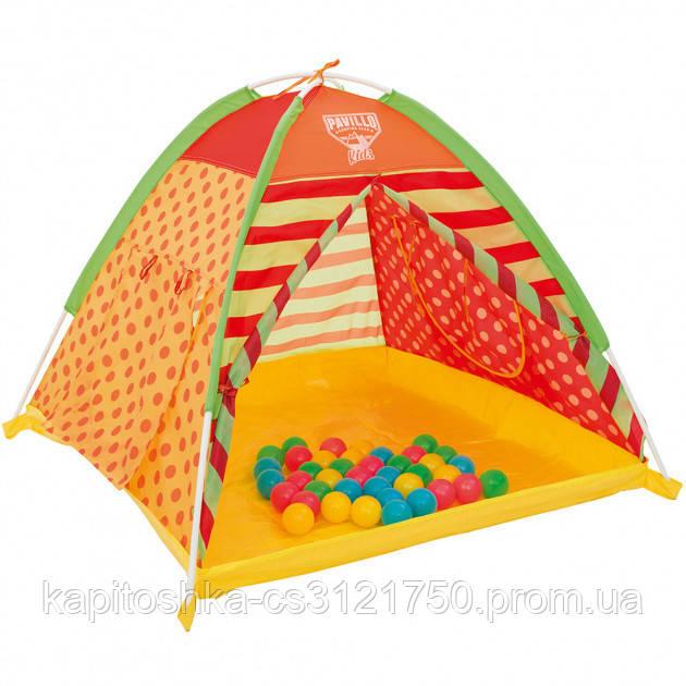 Детская палатка. Размер 112х112х90 см.Bestway 68080