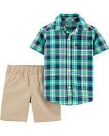 Комплект шорты + рубашка на мальчика 24 мес