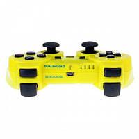Беспроводной геймпад PlayStation Dualshock 3 Bluetooth PS3( желтый)