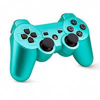 Беспроводной геймпад PlayStation Dualshock 3 Bluetooth PS3 (Бирюзовый)