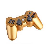 Беспроводной геймпад PlayStation Dualshock 3 Bluetooth PS3 (золотой)