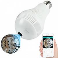 Камера видео наблюдения лампочка Рыбий глаз SMART+DVR WI-FI H302 Original