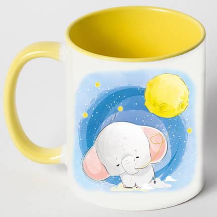 """Чашка """"Слон і місяць"""", фото 2"""
