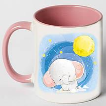"""Чашка """"Слон і місяць"""", фото 3"""