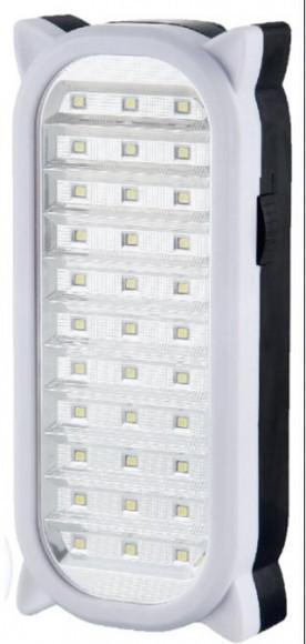 Светодиодная лампа фонарь с аккумулятором 6801 (33 диода)