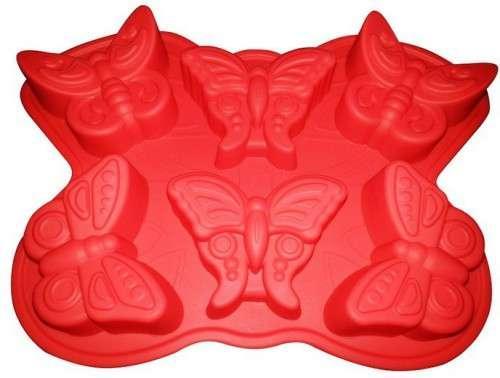 Форма для выпечки Бабочки 6 шт 325*230*34 мм Empire M-7119
