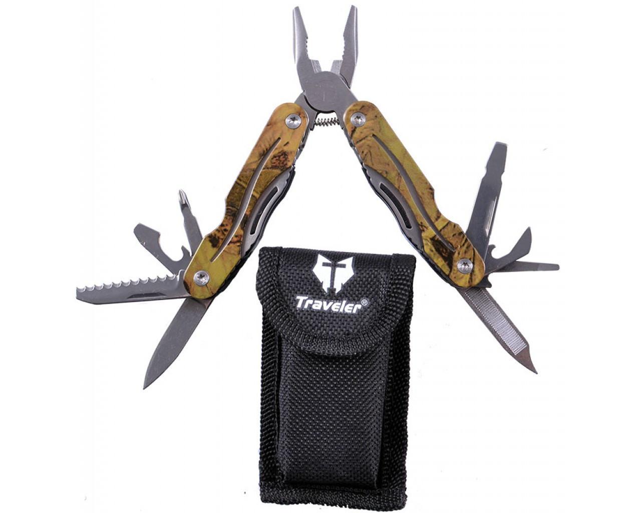 Нож многофункцыональный мультитул Traveler NТ-830
