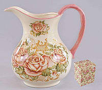 Кувшин керамический 1,2 л Корейская роза BonaDi QF-877-R