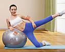 Фитбол, гимнастический мяч для фитнеса Gymnastic Ball (85см) 0278, фото 4