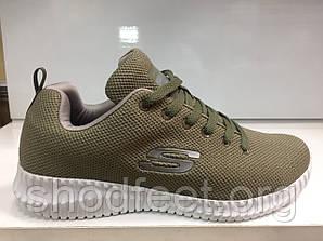 Мужские кроссовки Skechers Elite Flex SN Green White
