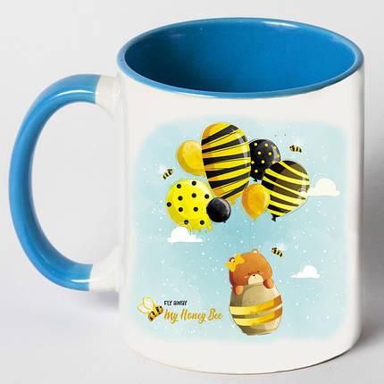 """Чашка """"Медведь с осой"""", фото 2"""