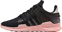 Жіночі кросівки AD EQT Support ADV Black Pink. ТОП Репліка ААА класу., фото 1