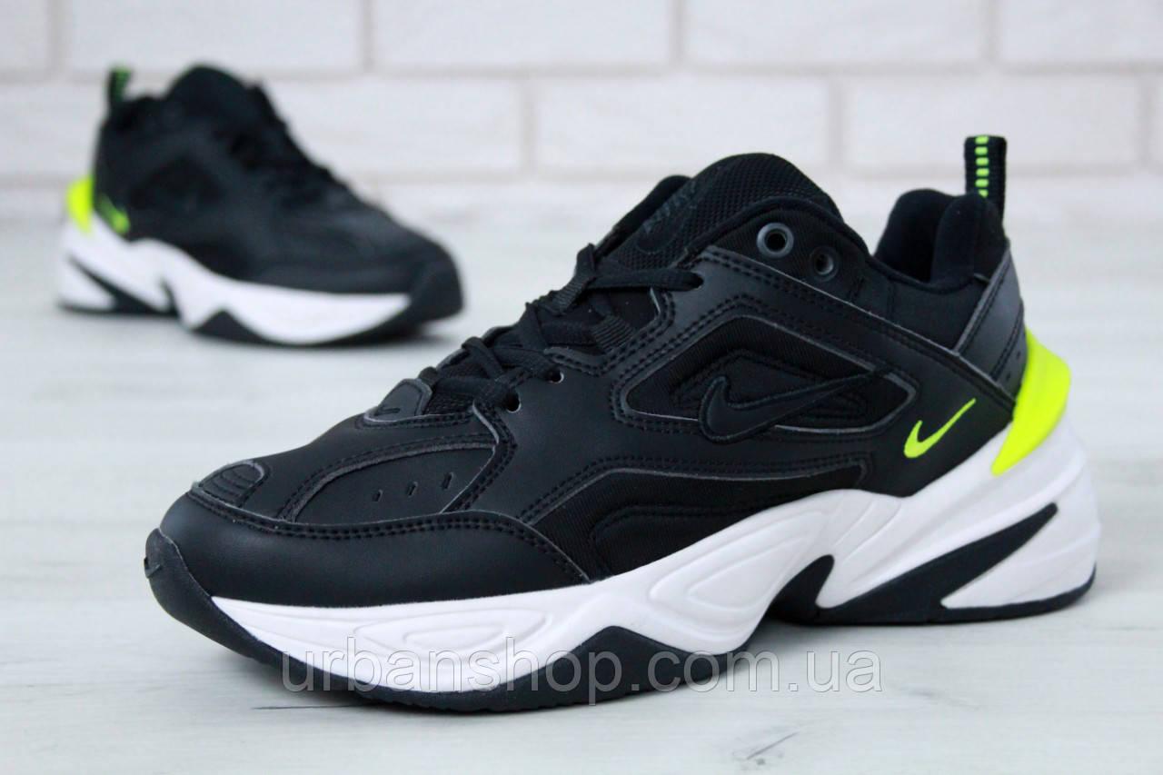 Чоловічі кросівки Nike M2K Tekno Black. ТОП Репліка ААА класу.