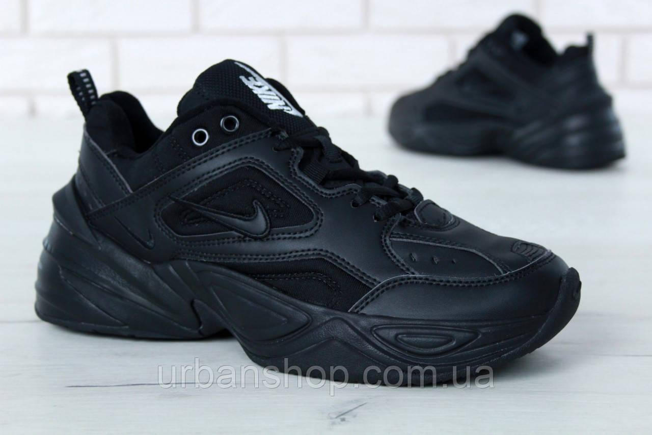 cb732bb6 Чоловічі кросівки Nike M2K Tekno Black/Black. ТОП Репліка ААА класу. -  UrbanShop